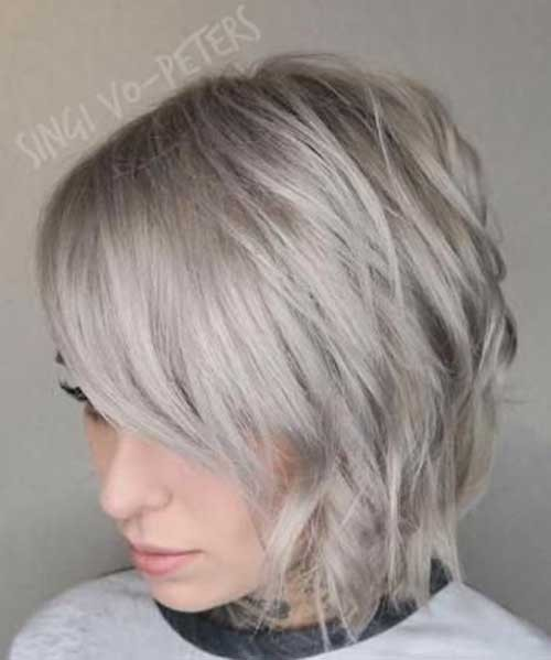Ash-Blonde-Short-Hair Best Short Haircuts You will Want to Try