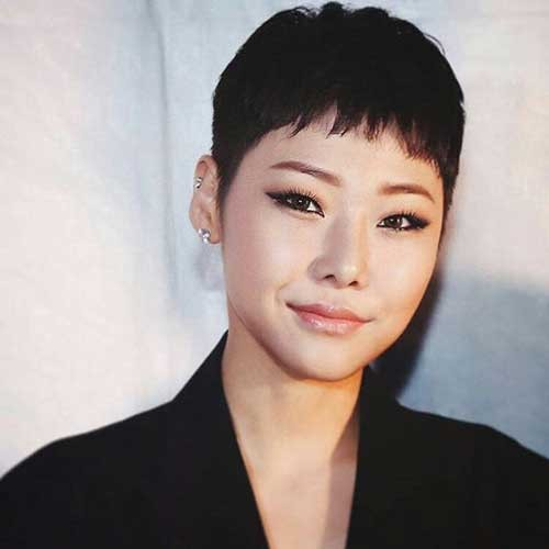 Asian-Girl-Pixie Best Pixie Haircuts for 2018