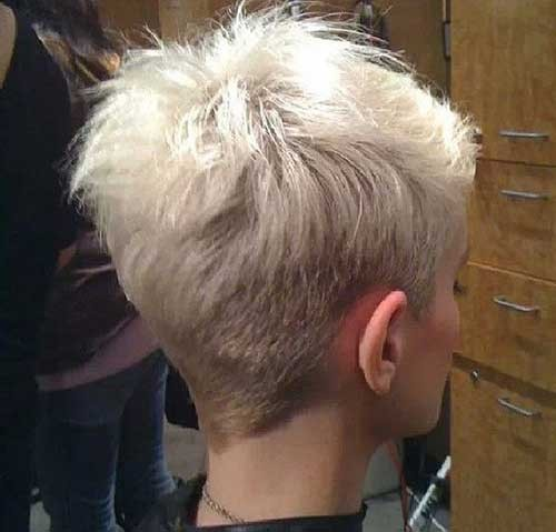 Back-View-of-Pixie-Haircut Best Pixie Haircuts for 2018
