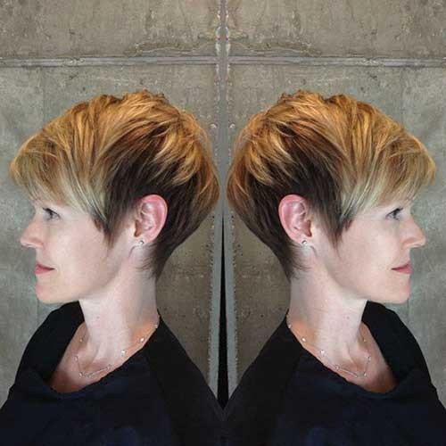 Blonde-Long-Pixie Best Short Haircuts You will Want to Try
