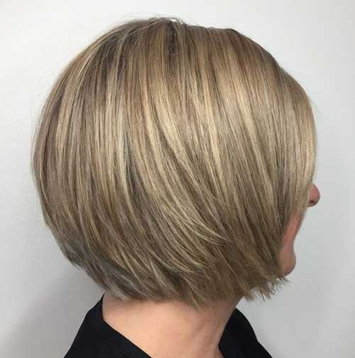 Bob-Cut-with-Layers Latest Bob Haircuts for 2018