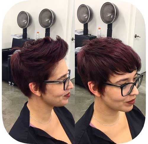 Brunette-Pixie Best Pixie Haircuts for 2018