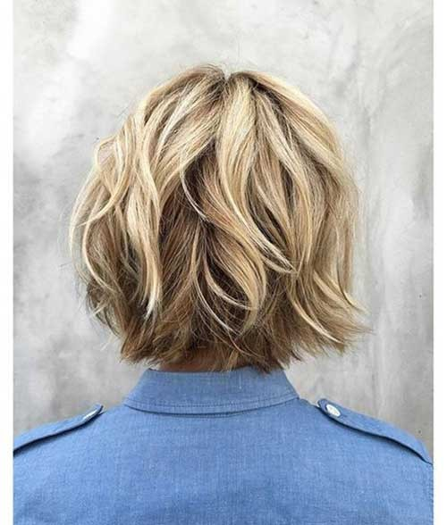 Choppy-Bob-Short-Haircut Best Short Haircuts You will Want to Try