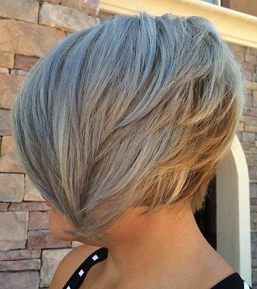 Choppy-Inverted-Bob-Hairstyle Best Short Haircuts You will Want to Try