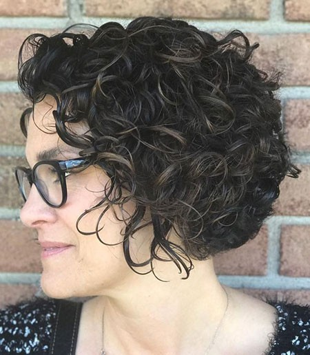 Curly-Short-Hair Hairstyles for Short Curly Hair
