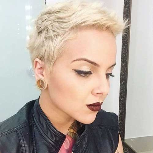 Cute-Short-Pixie-Cut Best Pixie Haircuts for 2018