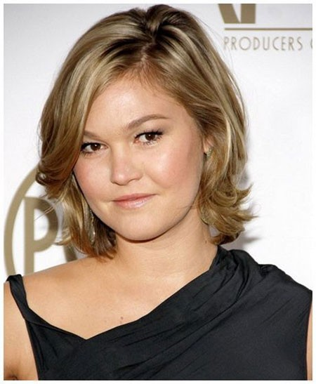 Easy-Hairtyle Short Hairstyles for Chubby Faces