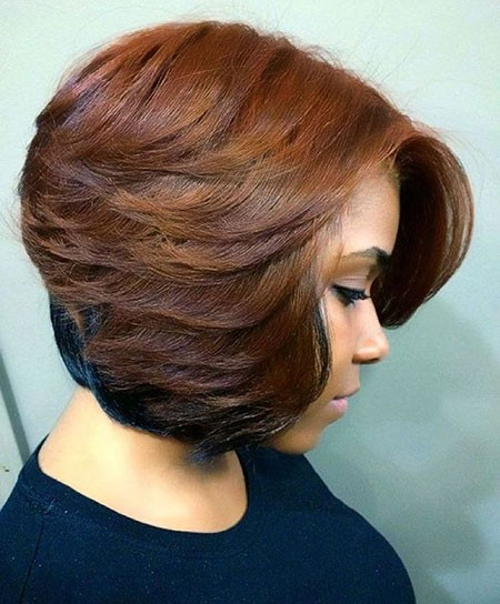 Feathered-Hairtyles-for-Black-Women Cute Short Hairstyles for Black Women
