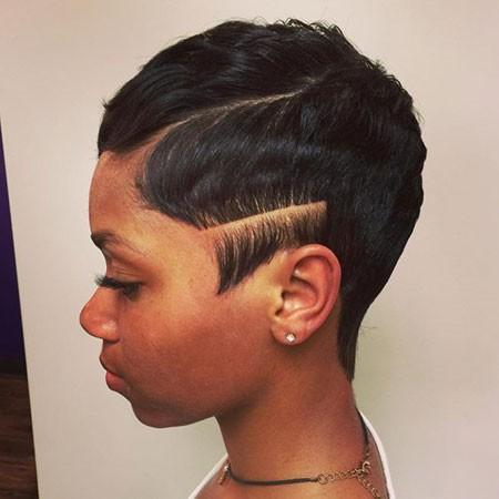 Finger-Waves-for-Black-Short-Hair Cute Short Hairstyles for Black Women