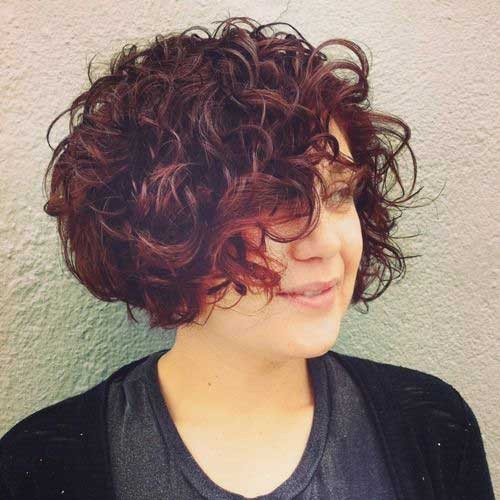Frizzy-Curly-Hair Best Short Haircuts You will Want to Try