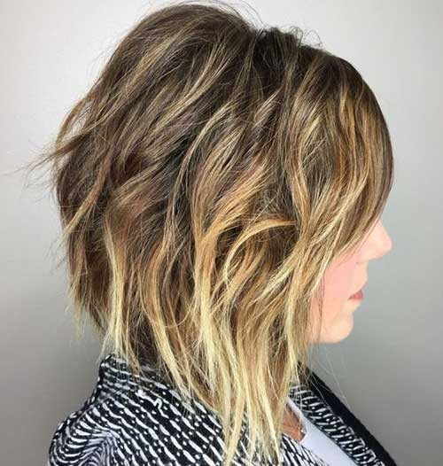 Graduation-Layers Beautiful Layered Short Haircuts for Ladies