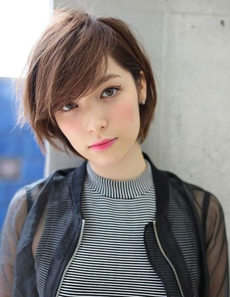 Korean-Short-Hair-2018 Short Cute Hairstyles