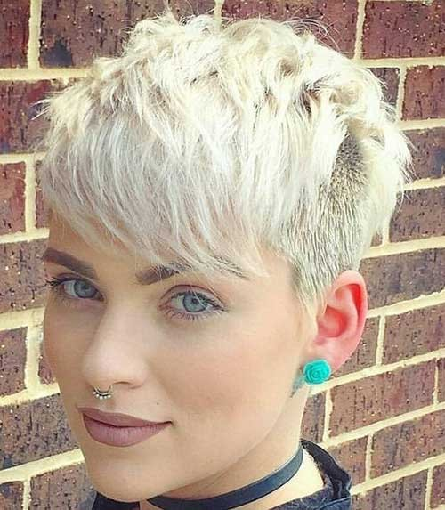 Beautiful Layered Short Haircuts for Ladies