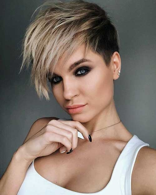 Layered-Long-Pixie-Haircut Beautiful Layered Short Haircuts for Ladies