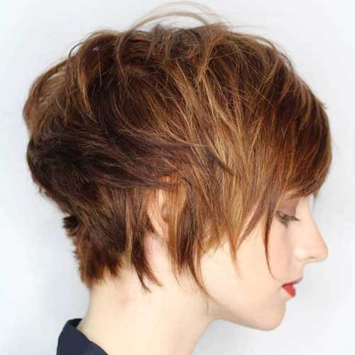 Layered-Long-Pixie Best Pixie Haircuts for 2018
