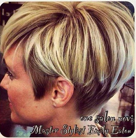 Layered-Short-Haircuts-for-Women-Over-50 Short Cute Hairstyles