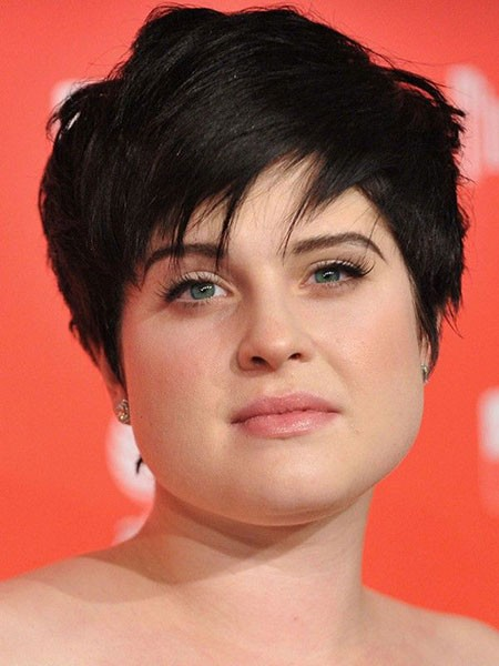 Long-Pixie-Cut Short Hairstyles for Chubby Faces