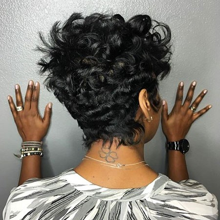 Pixie-Cut-Back-View Best Short Hairstyles for Black Women