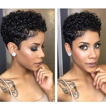 Sexy-Short-Hair Short Natural Haircuts for Black Women