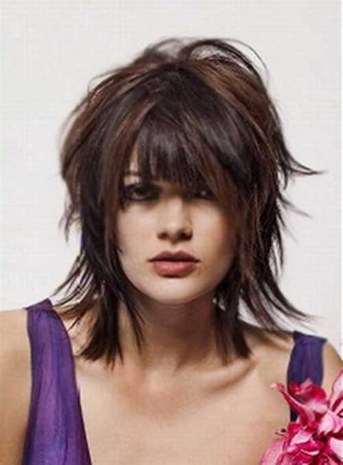 Shaggy-Hairstyle-for-Fine-Hair Short Shaggy Haircuts