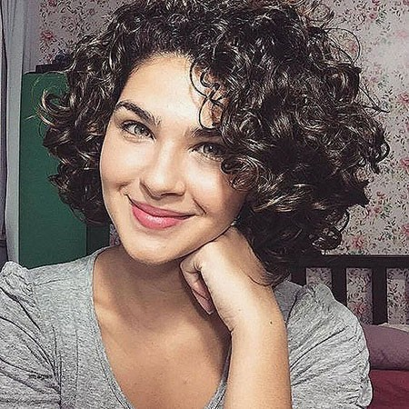 Short-Hair Short Natural Curly Hairstyles