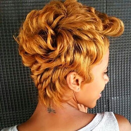Short-Hairstyles-for-Black-Women-2017 Best Short Hairstyles for Black Women