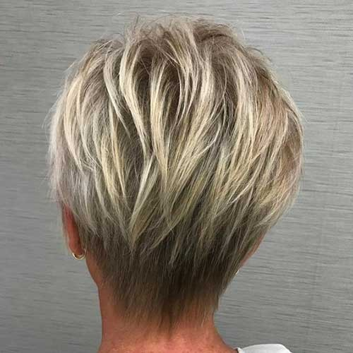 Short-Layered-Hair-2018 Beautiful Layered Short Haircuts for Ladies
