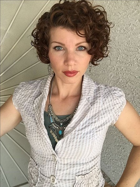 Short-Natural-Curly-Hairtyles Short Natural Curly Hairstyles