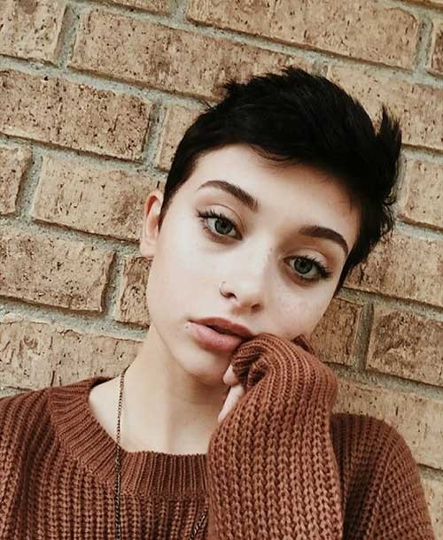 Short-Pixie-Cut-1 Best Pixie Haircuts for 2018