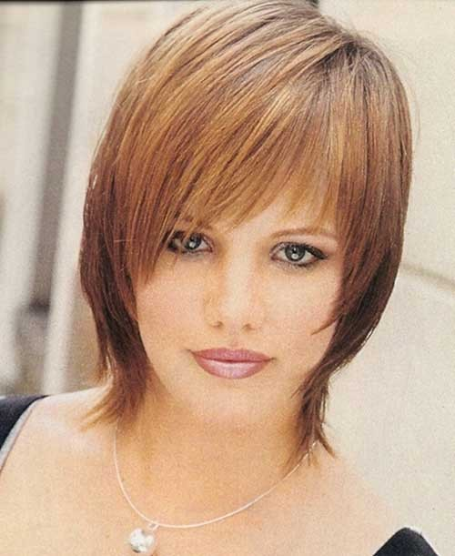 Short-Straight-Shaggy-Haircut-for-Summer Short Shaggy Haircuts