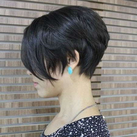 Stacked-Bob-Hair Popular Short Brunette Hairstyles