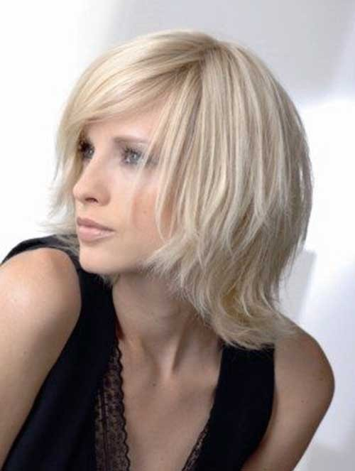 Straight-Fine-Blonde-Haircut-for-Girls Best Short Haircuts for Straight Fine Hair
