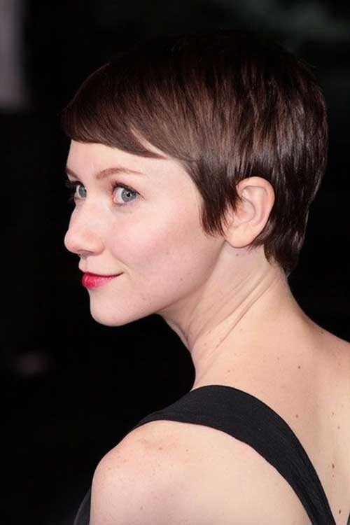Straight-Fine-Short-Pixie-Cut Best Short Haircuts for Straight Fine Hair