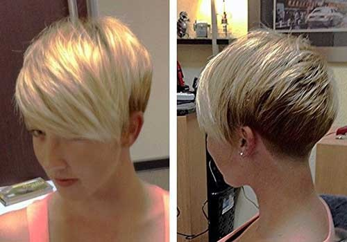 Blonde-Short-Pixie-Hair Best Short Pixie Cuts