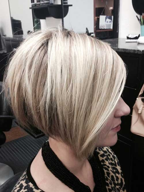 Cute-Stacked-Bob-Haircut-for-Girls Short Stacked Bob Hairstyles