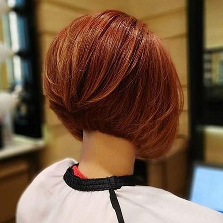 Graduated-Bob Best Womens Short Haircuts
