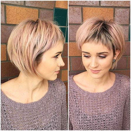 Hairstyle-with-Fringe Best Womens Short Haircuts
