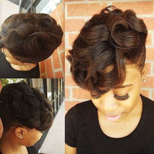 Lovely-Short-Natural-Haircut-for-Black-Girls Good Natural Black Short Hairstyles
