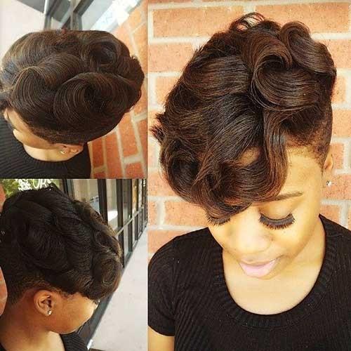 Lovely-Short-Natural-Haircut-for-Black-Girls Good Natural Black Short Hairstyles