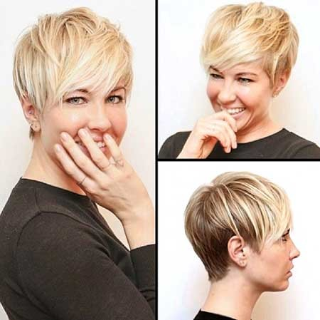 Medium-Length-Edgy-and-Messy-Pixie-Hairdo Long Pixie Hairstyles