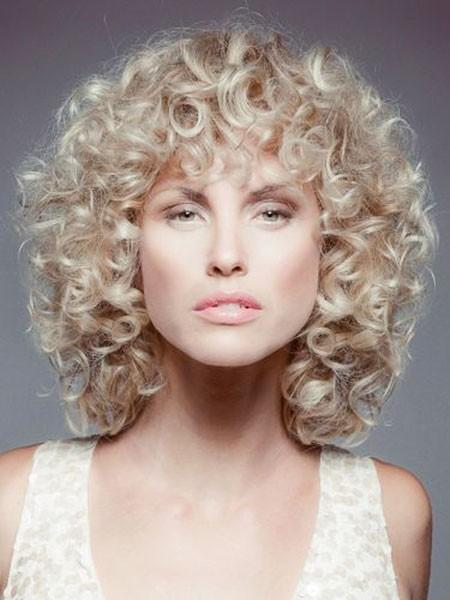 Short-Blonde-Hair Short Curly Blonde Hair Ideas