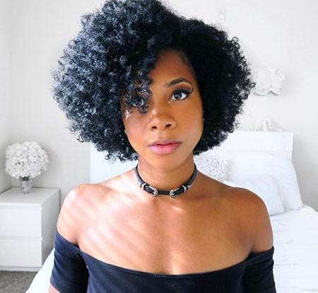 Short-Curls Short Hairstyles for Black Women 2018