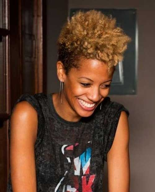 Short-Natural-Hairstyle-for-Black-Women Good Natural Black Short Hairstyles