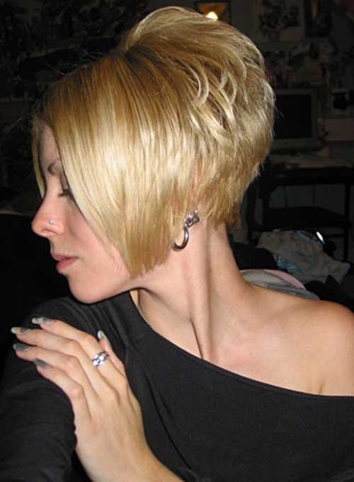 Short-Stacked-Swing-Bob-Haircut Short Stacked Bob Hairstyles