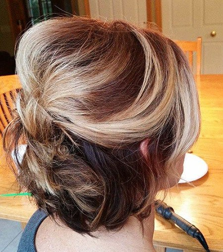 Short-Updo-Hair Nice Updos for Short Hair