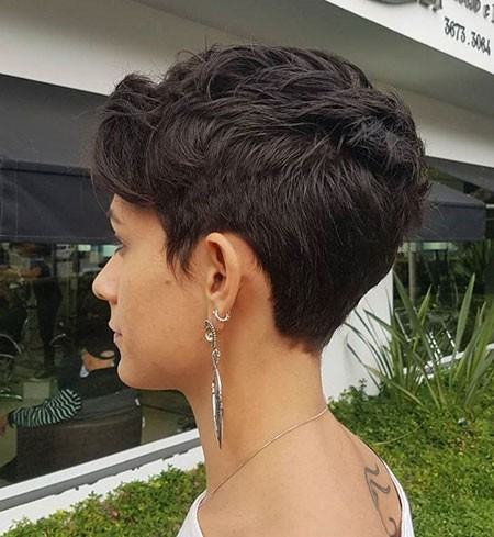 Tapered-Cut Best Womens Short Haircuts