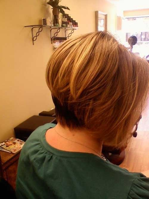 The-Best-Stacked-Inverted-Bob-Style Short Stacked Bob Hairstyles