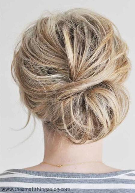 Updo-for-Short-Hair Nice Updos for Short Hair