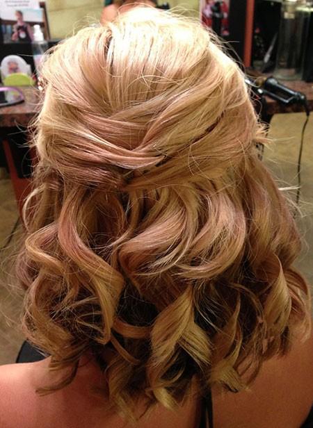 Wedding-Hairtyle-for-Medium-Short-Haircut Nice Updos for Short Hair