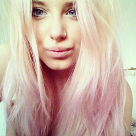 13-Directions-Pastel-Pink-Dye-611 Blonde And Pink Ombre Hair